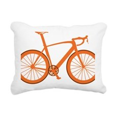 BARB_orange Rectangular Canvas Pillow