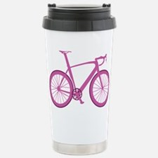 BARB_pink Stainless Steel Travel Mug