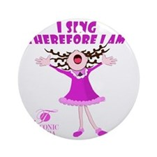 i-sing Round Ornament