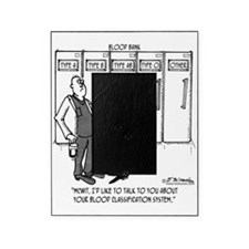 2058_blood_cartoon_SC Picture Frame