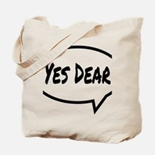 Yes Dear Hat Tote Bag