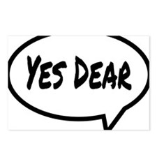 Yes Dear Hat Postcards (Package of 8)