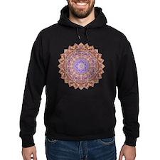 Purple Fusha Yoga Mandala Shirt Hoodie