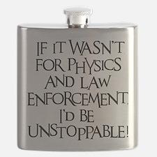 black, Unstoppable Flask