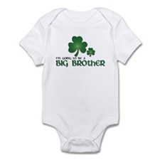 st. patrick's day big brother t-shirt Infant Bodys
