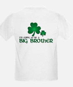 st. patrick's day big brother t-shirt T-Shirt