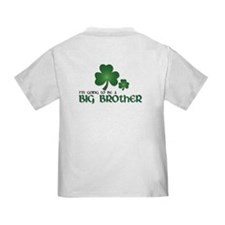 st. patrick's day big brother t-shirt Toddl