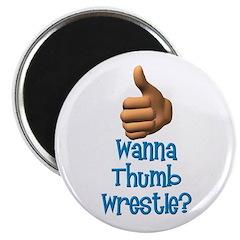 Thumb Wrestle Magnet