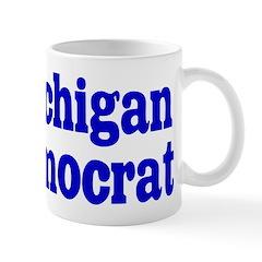 Michigan Democrat Coffee Mug