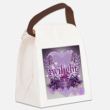 twilight breaking dawn large post Canvas Lunch Bag