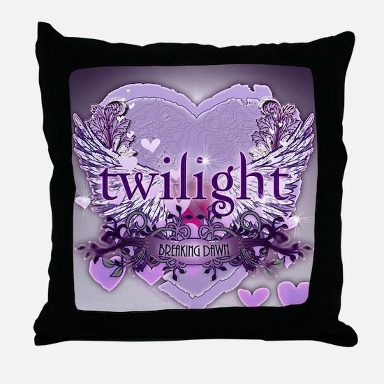 twilight breaking dawn large poster p Throw Pillow