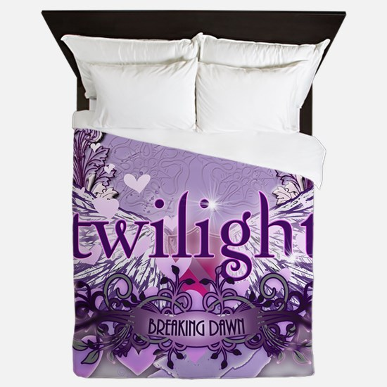 twilight breaking dawn large poster pr Queen Duvet