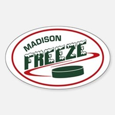 MADISON FREEZE Oval Decal