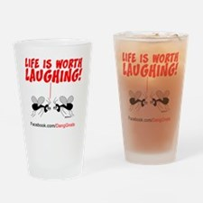 new-gnats-cafepress9-laughing Drinking Glass