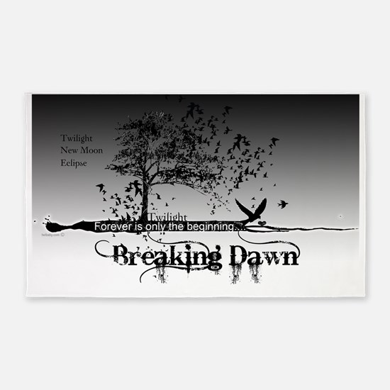 must have breaking dawn #9 large po 3'x5' Area Rug
