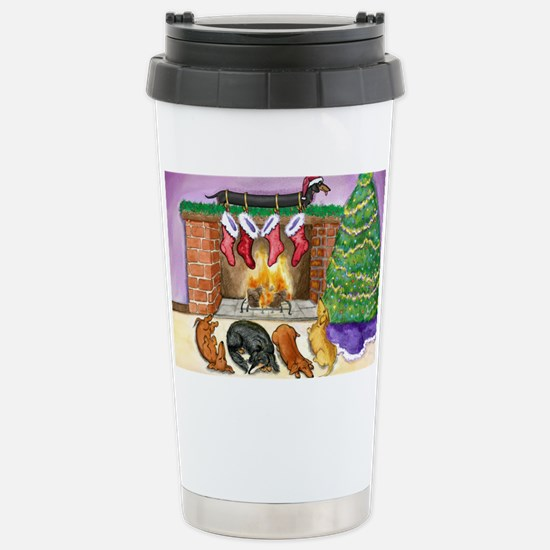 fireplacedogsCP Stainless Steel Travel Mug