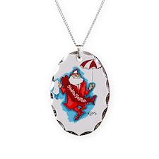 secondline santa Necklace