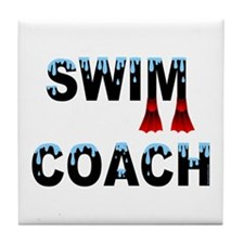 Swim Coach Tile Coaster