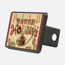 Happy Holidays_Flat Hitch Cover