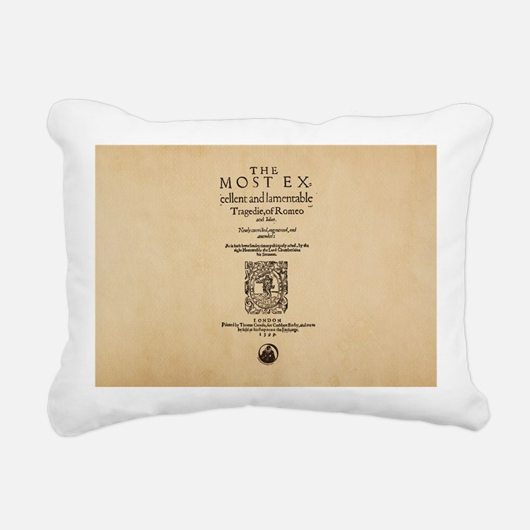 romeoandjuliet-bag Rectangular Canvas Pillow