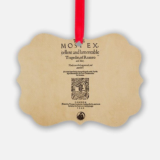 romeoandjuliet-bag Ornament