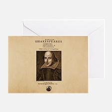 First_Folio-bag Greeting Card