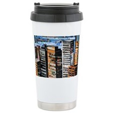 The City by Day Travel Mug