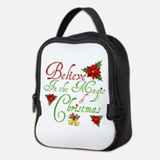Believe In The Magic Neoprene Lunch Bag