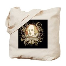 william_shakespeare_gold-bag Tote Bag
