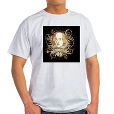 william_shakespeare_gold-bag T-Shirt