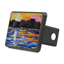 Sunset in the City Hitch Cover
