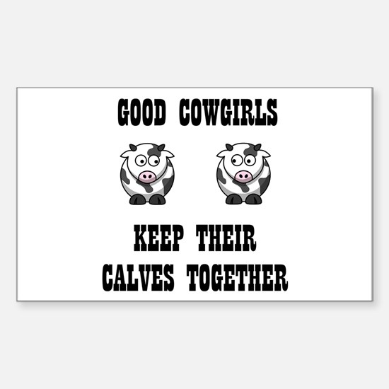 Good Cowgirl Decal