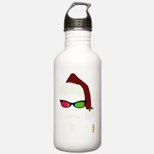 ORIGINAL_HIPSTER_SANTA Water Bottle