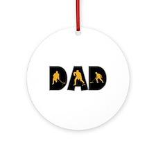 Hockey Dad Ornament (Round)