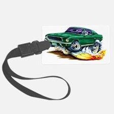 1968 Bullit Mustang copy Luggage Tag