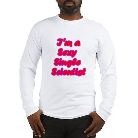 Single Scientist Long Sleeve T-Shirt