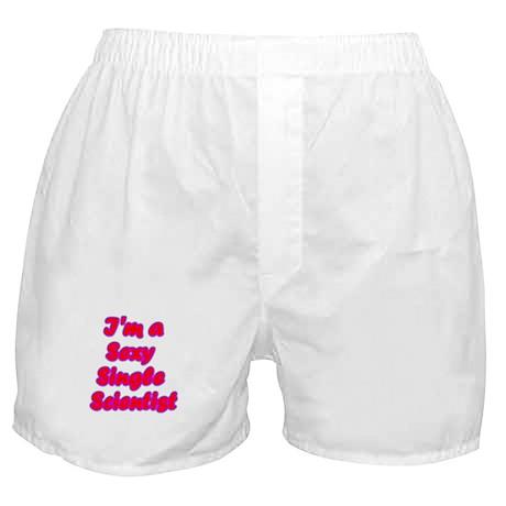 Single Scientist Boxer Shorts