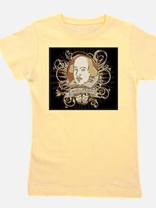 william_shakespeare_gold-bag-2 Girl's Tee