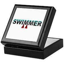 Swimmer Keepsake Box