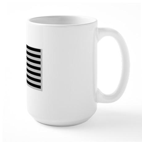 Sub Flag blkCarMag528_H_F Large Mug