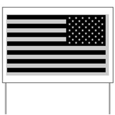 Sub Flag blkCarMag528_H_F reverse Yard Sign