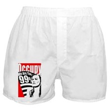 Occupy Poster Boxer Shorts