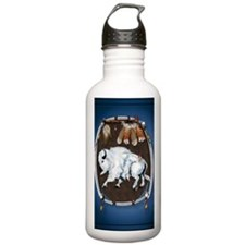 White Buffalo Shield - Water Bottle