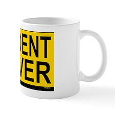 Student Drv 528_H_F bus yellow Small Mug