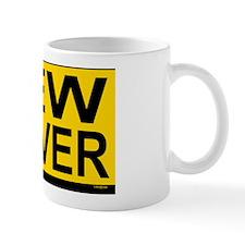 New Drv 528_H_F bus yellow Small Mug