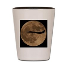 (4) B-1B Moon Flight Shot Glass