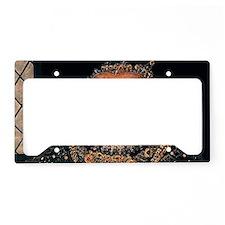 8-Elizabeth-retouched-ermine- License Plate Holder