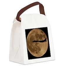 (15s) B-1B Moon Flight Canvas Lunch Bag