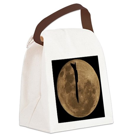 (11p) B-1B Moon Flight Canvas Lunch Bag