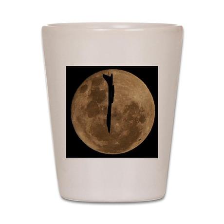 (11p) B-1B Moon Flight Shot Glass